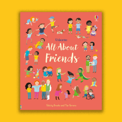 The Cover of the Book All About Friends