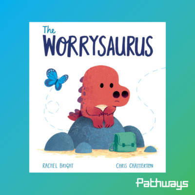 An image of the Worrysaurus book cover