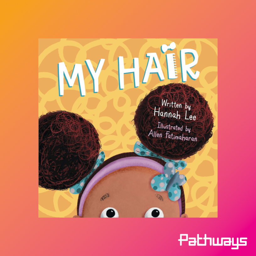 The cover of the book My Hair
