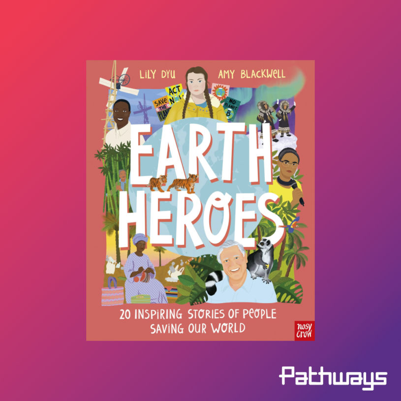 The cover of the book Earth Heroes