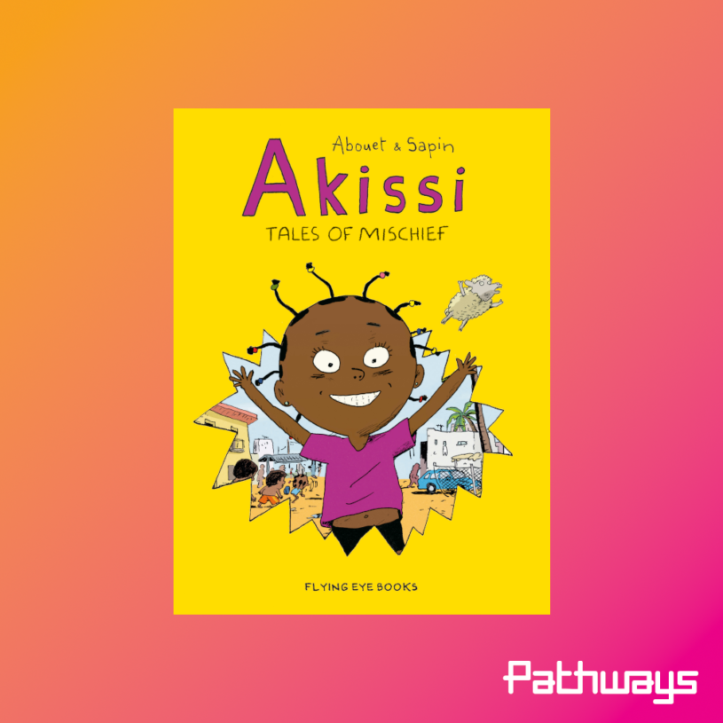 The cover of the book Akissi, Talkes of Mischief.
