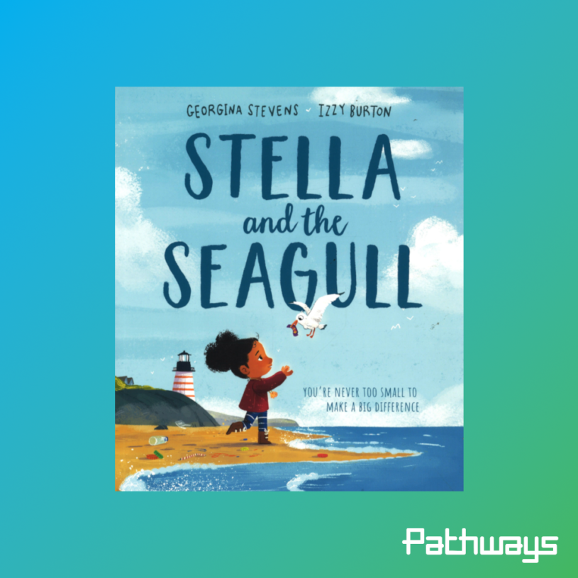 """the cover of the book """"Stella and the Seagull"""""""