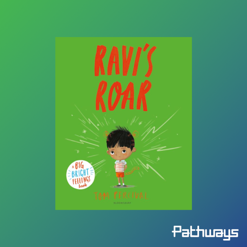 """the cover of the book """"Ravis Roar"""""""