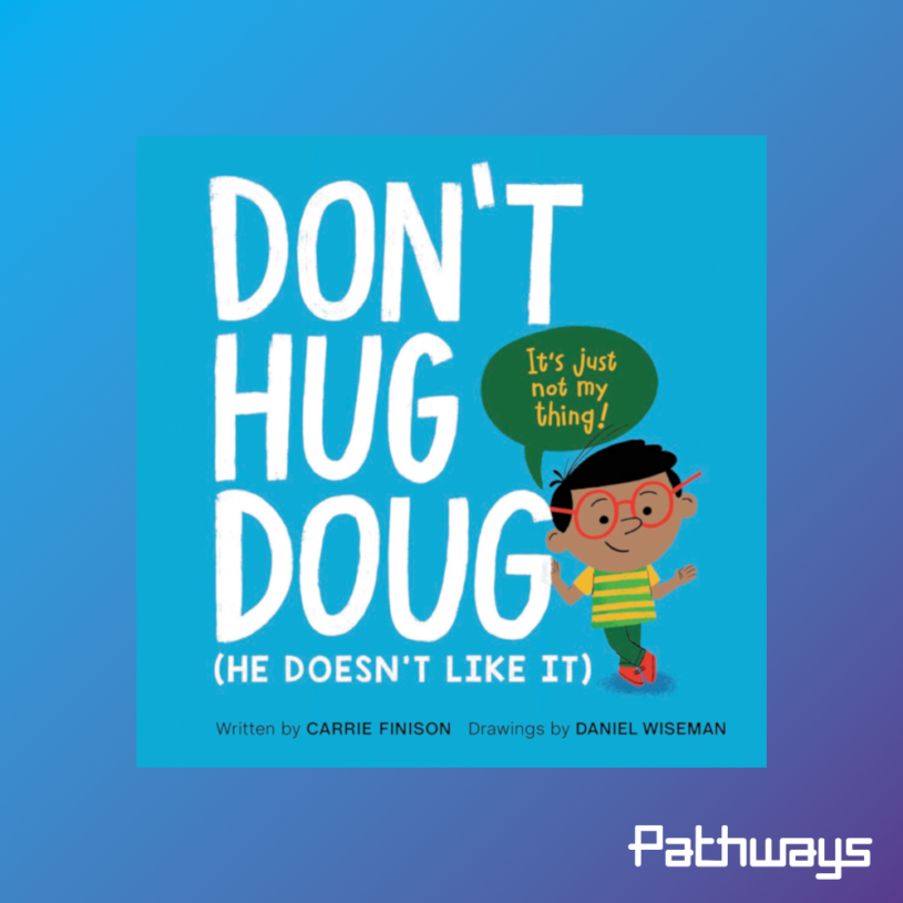 """the cover of the book """"Don't Hug Doug"""""""