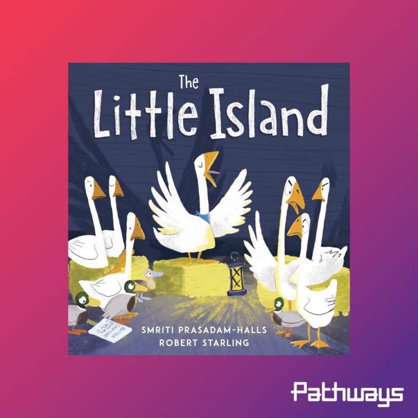 """The cover of the book """"Little Island"""""""