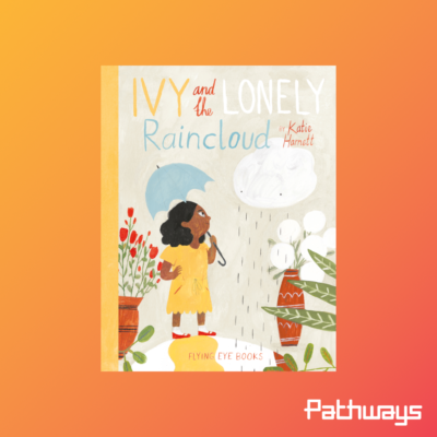 the cover of the book Ivy and the lonely raincloud