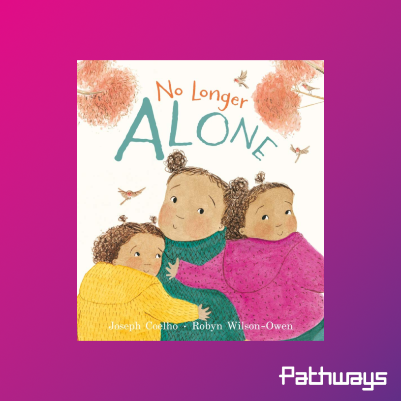 The cover of the book No Longer Alone
